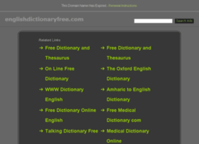 englishdictionaryfree.com