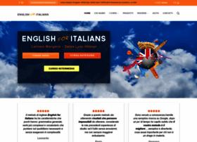 englishforitalians.com