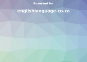 englishlanguage.co.za
