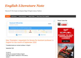 englishliteraturenote.com