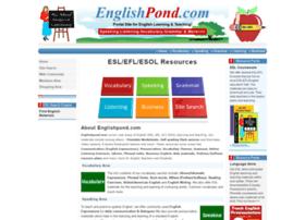 englishpond.com