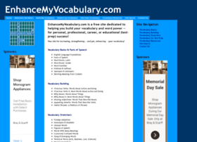 enhancemyvocabulary.com