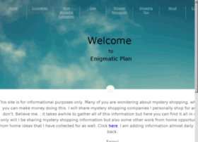 enigmaticplan.com