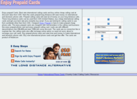 enjoyprepaidcards.com