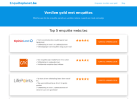 enqueteplanet.be