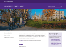enrollment.northwestern.edu