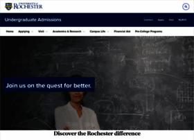 enrollment.rochester.edu