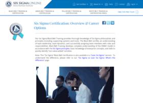 enrollment.sixsigmaonline.org