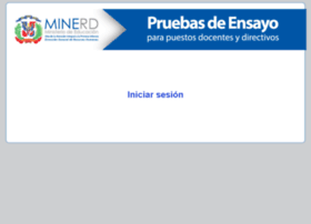 ensayos.minerd.edu.do