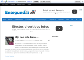 ensegundos.net.do