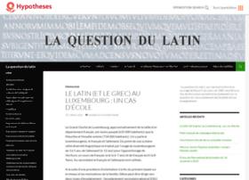enseignement-latin.hypotheses.org