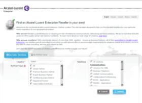 enterprise-partner-locator.alcatel-lucent.com