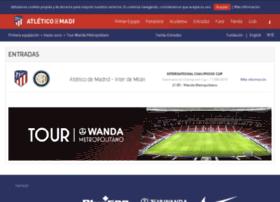 entradas.clubatleticodemadrid.com