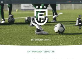 entrainementdefoot.fr