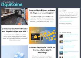 entreprendreenaquitaine.fr