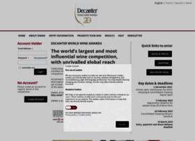 entry.decanterawards.com