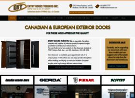 entrydoors-toronto.com