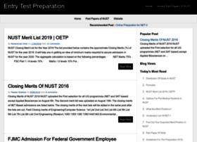 entrytest-preparation.blogspot.com