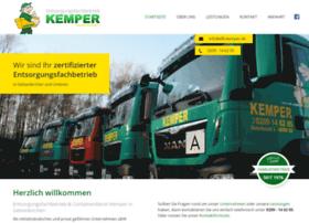 entsorgungsbetrieb-kemper.de