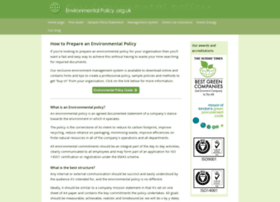 environmentalpolicy.org.uk