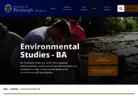 environmentalstudies.pittbradford.org
