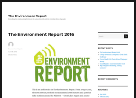 environmentreport.org