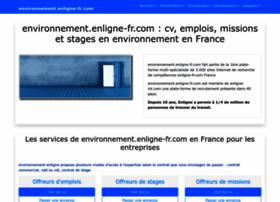 environnement.enligne-fr.com