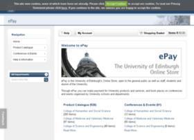 epay.ed.ac.uk