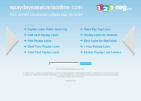 epaydayeasyloansonline.com
