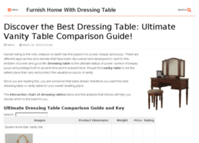 epicdressingtable.com