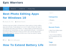 epicwarriors.net