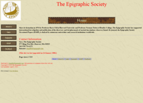 epigraphy.org