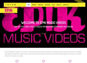 epikmusicvideos.com
