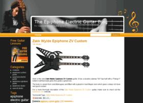 epiphoneelectricguitarblog.com