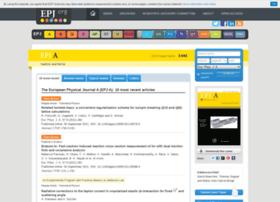 epja.epj.org