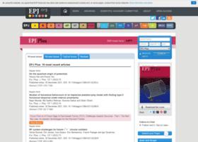 epjplus.epj.org