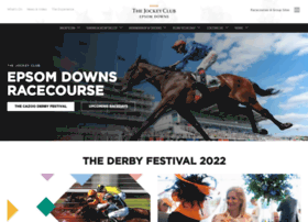 epsomdownsracecourse.co.uk