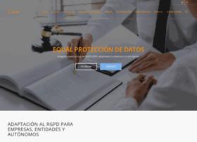 equalprotecciondedatos.com