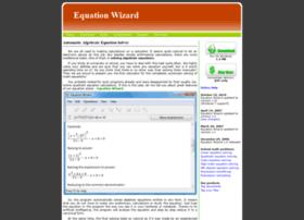 equationwizard.com