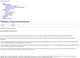 equestrianharmony.co.uk