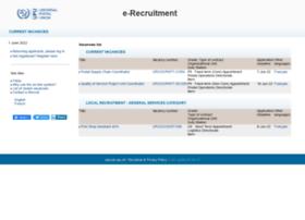 erecruit.upu.int