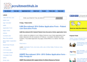 erecruitmenthub.in