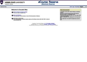 ereserve.weber.edu
