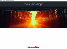 Eresumes4vips.com