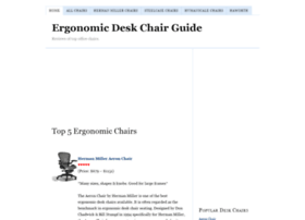 ergonomicdeskchairguide.com