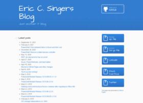 ericcsinger.com