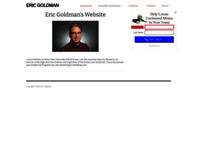 ericgoldman.org