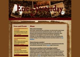 erieyesterday.org