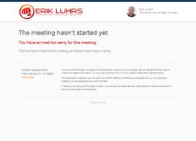 erikluhrs.enterthemeeting.com