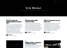 erikminkel.com